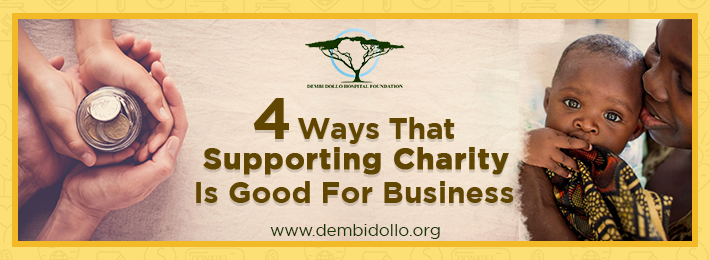 4 Ways That Supporting Charity Is Good for Business